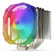 SilentiumPC chladič CPU Fortis 3 EVO ARGB HE1425, ultratichý, 140mm fan, 5 heatpipes, ARGB, PWM, pro Intel i AMD
