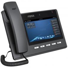"""Fanvil IP telefon C600, 6 SIP, 7"""" dotykový LCD, 10/100/1000 Mbps, kamera, Android 4,2, napájecí zdroj"""