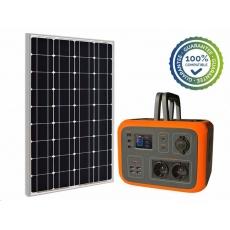 Viking bateriový generátor AC600, 600W, oranžová + solární panel SCM120