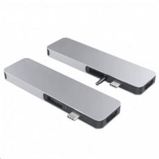 HyperDrive SOLO USB-C Hub pro MacBook & ostatní USB-C zařízení - Stříbrný