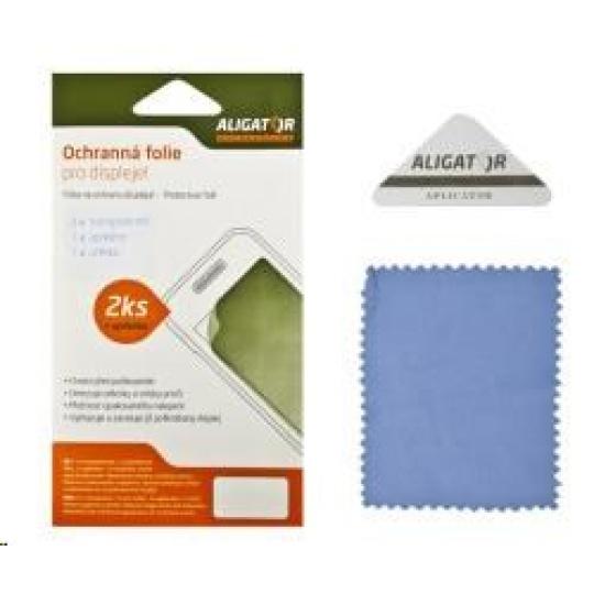 Aligator ochranná fólie na displej pro Aligator RX500/RX510 eXtremo, 2 ks + aplikátor