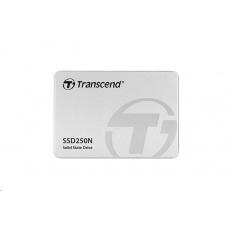 "TRANSCEND SSD 250N 2TB, 2.5"", SATA III 6Gb/s, 3D TLC,  Endurance SSD for NAS"