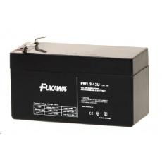 Baterie - FUKAWA FW 1,2-12 U (12V/1,2Ah - Faston 187), životnost 5let
