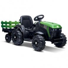 Elektrický traktor BEC 8211 El. traktor + príves BUDDY TOYS