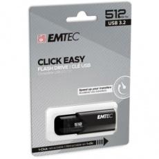 Flash disk B110 USB3.2 512GB BLA Click Easy EMTEC