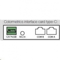 Colormetrics interface card, type-C