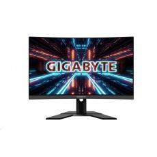 """BAZAR Gigabyte MT LCD - 27"""" Gaming monitor G27QC, 2560x1440, 12M:1, 250cd/m2, 1ms, 2xHDMI 2.0, 1xDP 1.4(HBR3)"""