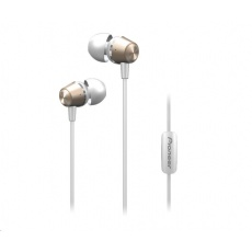 Sluchátka do uší-bílozlatá-SE-QL2T-G