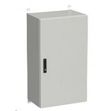 Solarix rozvaděč nástěnný venkovní LC-20 24U 600x600mm, dveře plech, LC-20-24U-66-22-G