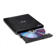 BAZAR HITACHI LG - externí mechanika BD-W/CD-RW/DVD±R/±RW/RAM/M-DISC BP55EB40, Black, box+SW, (Z OPRAVY)
