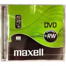 Médiá DVD+RW 4,7GB 4X 1PK 10mm 275526 MAXELL