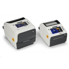 Zebra ZD621t Healthcare, 12 dots/mm (300 dpi), disp., RTC, USB, USB Host, RS232, BT (BLE), Ethernet, white