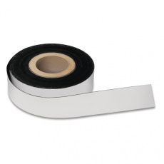 Magnetická páska popisovatelná Magnetoplan 30 m x 50 mm, bílá