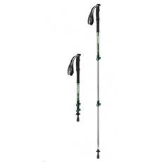 Naturehike teleskopická treková hliníková hůlka ST01 57-120cm 233g - zelená