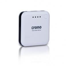 CRONO externí záložní baterie 1900mAH, bílá