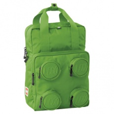Školská aktovka Signature Brick 2x2 batoh - zelený LEGO