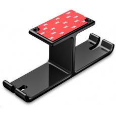CONNECT IT univerzální držák na sluchátka pod desku stolu, černá