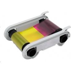 Evolis colour ribbon (YMCKO)