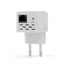 GEMBIRD Wifi repeater WNP-RP300-03 300 Mbps, bílá