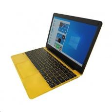 "UMAX NTB VisionBook 12Wr Yellow - 11,6"" IPS FHD 1920x1080,Celeron N4020@1,1 GHz,4GB,64GB,Intel UHD,W10P,Žlutá"
