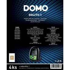 Domo DO42TS-1 Sada text. sáčků do vysavače 2-3l, 4ks