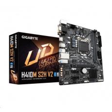 BAZAR-GIGABYTE MB Sc LGA1200 H410M S2H V2, Intel H470, 2xDDR4, 1xHDMI, 1xDVI, VGA, mATX- po opravě (bez přísl.)