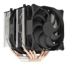 SilentiumPC chladič CPU Grandis 3, ultratichý, 1x140mm a 1x120mm fan, 6 heatpipes, PWM, pro Intel i AMD