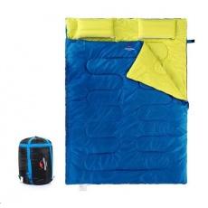 Naturehike spací pytel pro 2 osoby 2400g - modrá/zelená