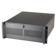 CHIEFTEC skříň Rackmount 4U ATX, UNC-410S-B-U3-50RD , 2x500W, Black