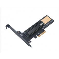BAZAR AKASA adaptér M.2 SSD na PCIe bez chladiče