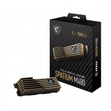 MSI SSD SPATIUM M480, 2TB, PCIe 4.0 NVMe M.2 HS