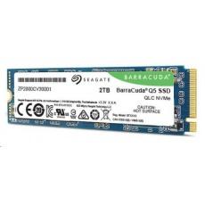 SEAGATE BarraCuda Q5 NVMe SSD 2TB M.2 PCIe Gen3 ×4, NVMe 1.3, (R:2400/W:1800MB/s)