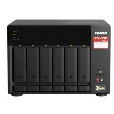 QNAP TS-673A-8G (4C/Ryzen V1500B/2,2GHz/8GBRAM/6xSATA/2xM.2/2x2,5GbE/4xUSB3.1/2xPCIe)
