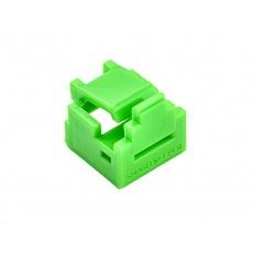 SMARTKEEPER Mini RJ11 Port Lock 4 - 1x klíč + 4x záslepka, zelená