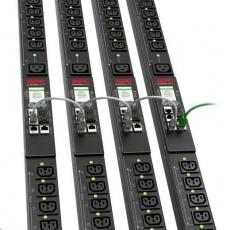 APC Rack PDU 9000 Switched, ZeroU, 11.0kW, 230V, (21) C13 & (3) C19, IEC 60309 16 A 3P + N + PE 1.8m