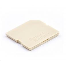 SMARTKEEPER Mini SD Port Lock 4 - 1x klíč + 4x záslepka, béžová