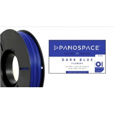 FILAMENT Panospace type: PLA -- 1,75mm, 1000 gram per roll - Modrá