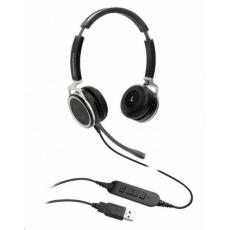 Grandstream GUV3005 náhlavní souprava na obě uši s USB konektorem