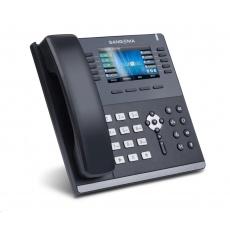 "Sangoma IP telefon S705, 6x SIP, 1000 Mbps, PoE, 4,3"" barevný displej, BT, Wi-Fi"