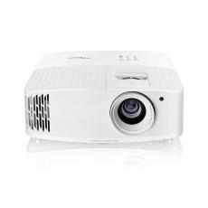 Optoma projektor UHD35 (DLP, 4K UHD, 3600 ANSI, 1M:1, 2xHDMI, VGA, Audio, RS232, 1x 10W speakers), rozbaleno, testovano