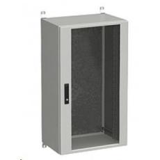 Solarix rozvaděč nástěnný venkovní LC-20 24U 600x400mm, dveře sklo, LC-20-24U-64-12-G