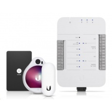 UBNT UniFi Access Starter Kit [4x 10/100/1000, 802.3bt, 3xPoE-Out, PoE-In]