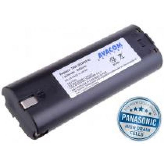 AVACOM baterie pro MAKITA 7000 Ni-MH 7,2V 3000mAh, články PANASONIC