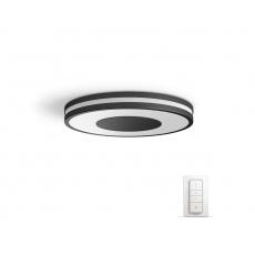 PHILIPS Being Stropní svítidlo, Hue White ambiance, 230V, 1x32W integ.LED, Černá - poškozený obal