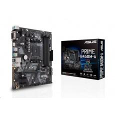 BAZAR ASUS MB Sc AM4 PRIME B450M-A, AMD B450, 4xDDR4, VGA, mATX, (bez příslušenství)