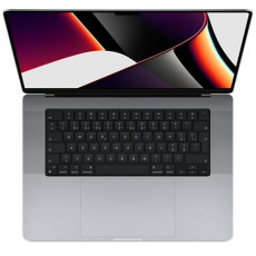 APPLE MacBook Pro 16'' Apple M1 Pro chip with 10-core CPU and 16-core GPU, 512GB SSD - Space Grey