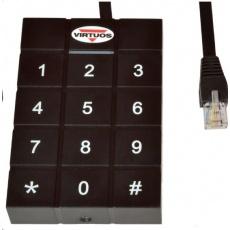 Virtuos RFID 125 kHz adaptér s klávesnicí pro pokladní zásuvky Virtuos 24V