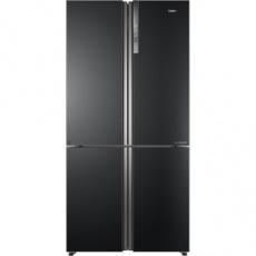 Americká (SBS) chladnička HTF 610DSN7 sbs A++ 4Door grafit HAIER