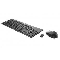HP Slim Wireless KB and Mouse - Anglická