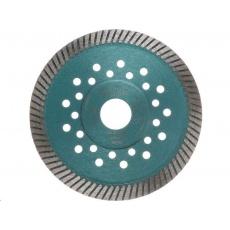 Extol Industrial (8703052) kotouč diamantový řezný turbo Fast Cut, 125x22,2mm, suché i mokré řezání